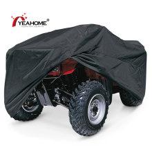 Klassische schwarze ATV-Abdeckung Langlebige wasserdichte Quad-Fahrradabdeckungen gegen UV-Strahlung