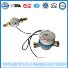Jet tunggal dail Kering watermeter Pulse Output