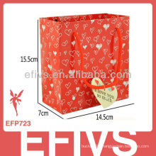 Sweet Love Red gift bag Wholesale