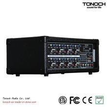 Tonoch 8 canais de alimentação da caixa de DJ Mixer
