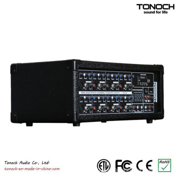 Tonoch 8 Channel Power Box DJ Mixer