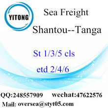 Shantou Port LCL Consolidation to Tanga