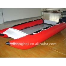 HH-P410 rígida inflável catamarã lancha