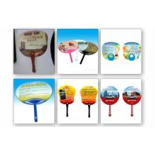 High Quality Customised Promotional Cheap PP Hand Fan