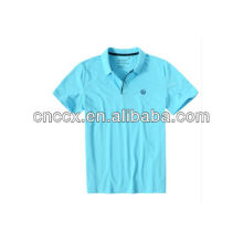 13PT1037 100%cotton embroidery polo shirts for men