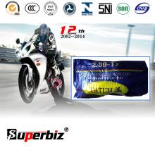 Hohen dauerhaften natürlichen Motorrad Reifen und innerer Schlauch (2.50-17) /Rubber Rohr