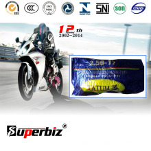 Высокая прочного природного мотоцикл шин и внутренняя труба (2.50-17) /Rubber трубка