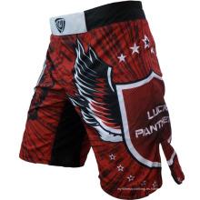 Pantalones cortos impresos manufacturados de la MMA de la manufactura de China