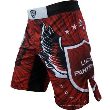 China Manufactory Printed Custom MMA Shorts