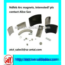 NdFeB 42sh Arc Magnet für Industrie