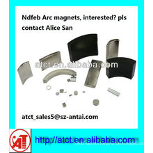 Ndfeb 42sh Arc Magnet For Industry