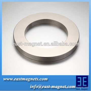 diametrically magnetized large ring magnets