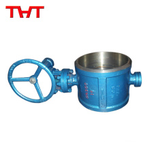 High performance welded butterfly valve stainless steel seat ring price