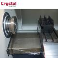 Mon essai CK6125A cnc mini tour / machine de tour portable / type tour cnc