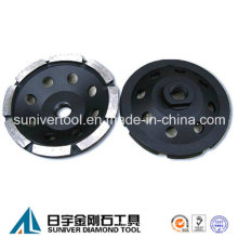 Diamond Single Row Grinding Cup Wheels for Concrete