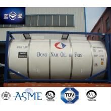 Envase del tanque de la categoría alimenticia T11 26000L aprobado por BV, Lr, CCS