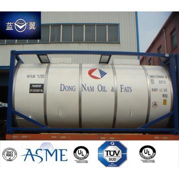 20FT 26000 Л из нержавеющей стали танк-контейнер для съедобных продуктов питания, топлива нефти, химических веществ,