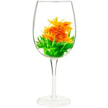 Ringelblume-Fliegen-Grün-blühender Tee-blühender Blumen-Tee