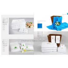 Toallas faciales y de mano 100% algodón para restaurante de hotel