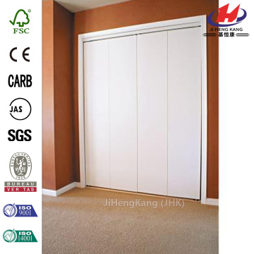 Country Style Paint Grade Interior Wood Folding Doors