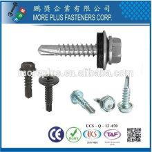 Taiwan Philip Drive Pan Head para Metal Roof Self Drilling Screw