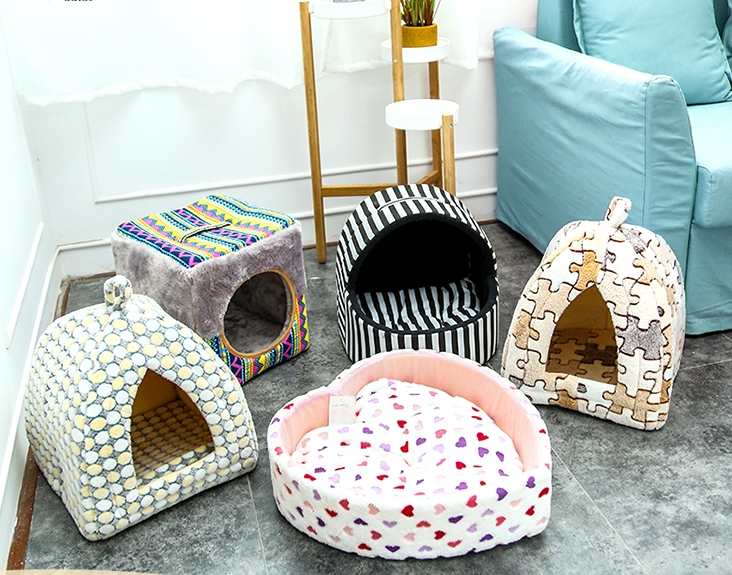 Portable Pet Dog Cat House Pet Sleeping Tent