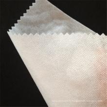 Entoilage en PVA soluble dans l'eau froide pour la robe de mariée