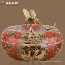 Antiguidade imitação artesanato antigo Decoração chinesa vaso de cerâmica antigo vaso de cerâmica artesanal