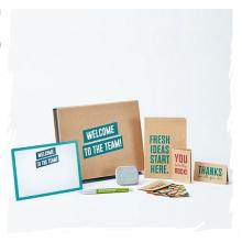 Создайте красивую коробку с приветствием для сотрудников