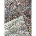 Tecido de lã de tecido antiderrapante geotêxtil tecido underlayment barato