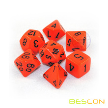 Petit polyédrique 7pcs RPG Dice Set 12MM