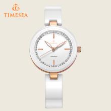 Досуг женщин повелительницы вскользь сетноой-аналогов кварц керамические wristwatch 71088