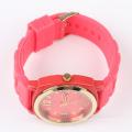 Relógios personalizados de movimento de relógio de silicone japonês