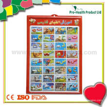 3D Animal Wall Chart For Kids Education