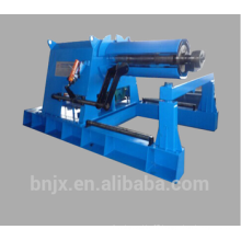 Good quality. 12Tons Hydraulic decoiler with coil car