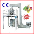 Herb Tea/Puffed Snacks/Cereals Multiheads Weigher Packing Machine Systems Jt-420W