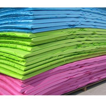 Custom color EVA foam sheet material for shoes
