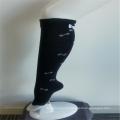 Girls' Casual Knee-high Black Quick Dry Print Socks