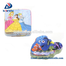 Garrafas de creme dental promoção forma mágica toalha com logotipo bordado