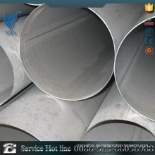 AISI TP 304L tubo / tubo soldado de acero inoxidable para herramientas metálicas