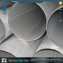 Tubulação de aço inoxidável do preço de fábrica de Alibaba com PVC