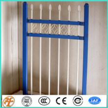 Modelos de design bonito de portões e cercas de piquete de ferro forjado