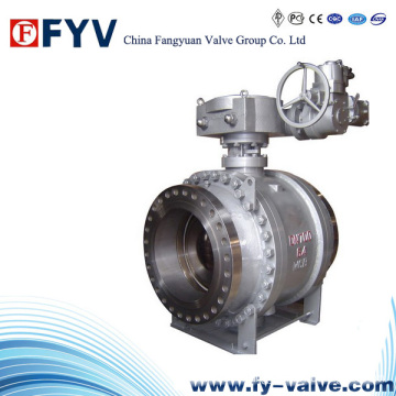 API/GB Pipeline Gas industrial Trunnion Ball Valve