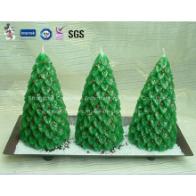 Conjunto de regalo de vela de lujo árbol de Navidad