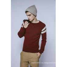 100% Cachemira Otoño y Invierno cuello redondo Jersey Hombres Knitwear