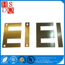 Noyau de fer de feuille de silicium de stratification de transformateur de forme d'IE
