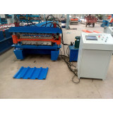 Ibr Corrugated Roofing Double Layer Roll Forming Machine