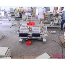 15 colors 2 heads tubular embroidery machine price