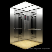 Mirror Etched Finished Stainless Steel Elevator