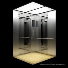 Ascenseur de passagers en acier inoxydable